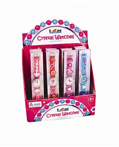 Fun Time Crystal Watches
