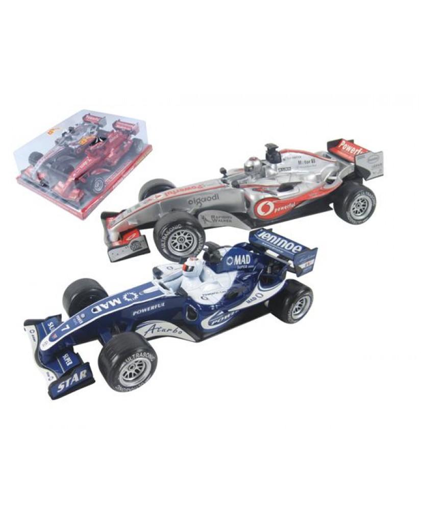 "2pc 9.5"" Lt/Sound Friction Formula 1 Racers"