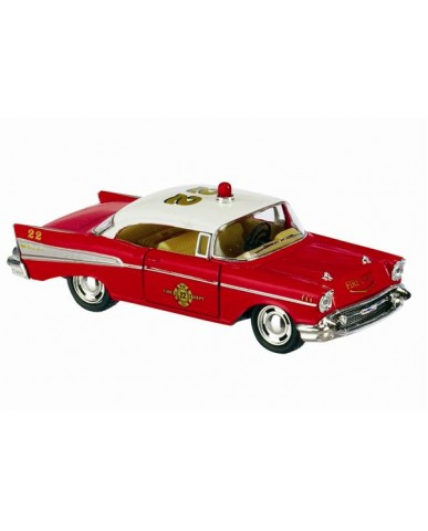 "5"" 1957 Chevy Bel-Air Classic Fire Chief"