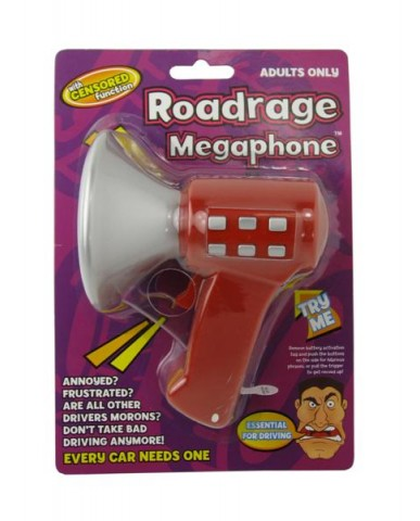 Road Rage Megaphone (Censored Version)