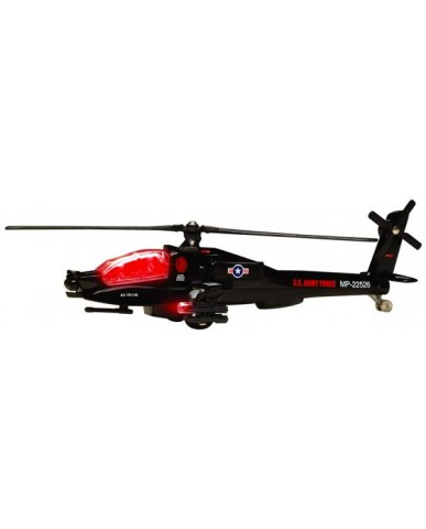 """8.25"""" Light & Sound Combat Helicopter"""