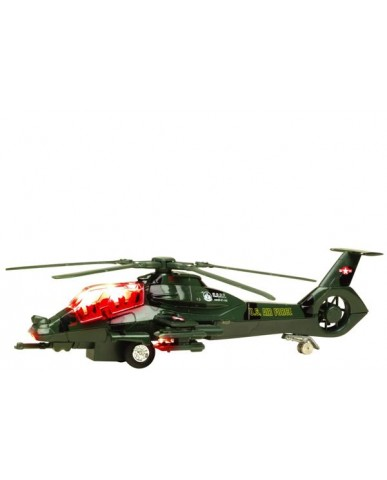 """8.25"""" Light & Sound Stealth Helicopter"""
