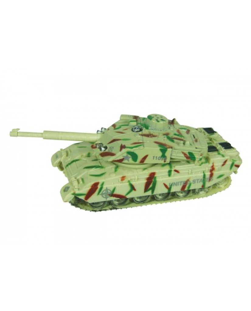 "5.5"" Light & Sound Army Tank"