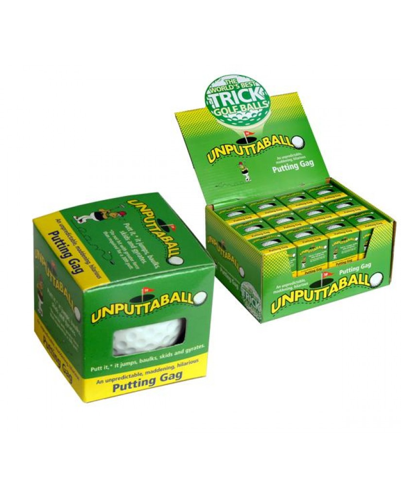 Unputtaball Trick Golf Balls