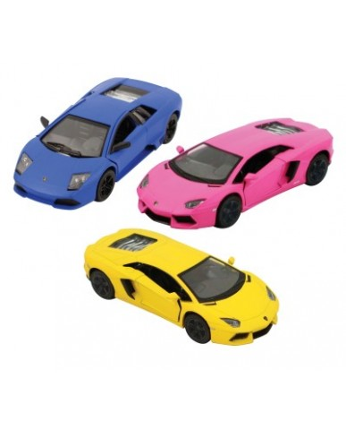 "5"" Assorted Lamborghinis Hot Colors"