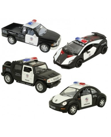 "5"" Assorted Modern Police Cars"