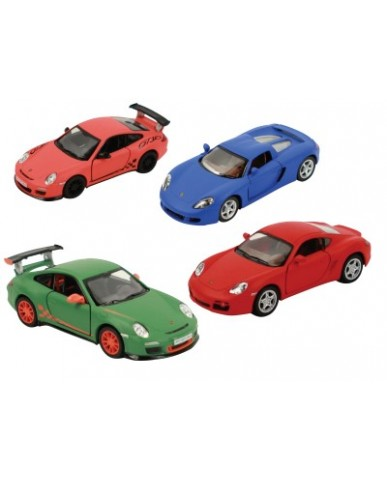 "5"" Assorted Porsches Hot Colors"