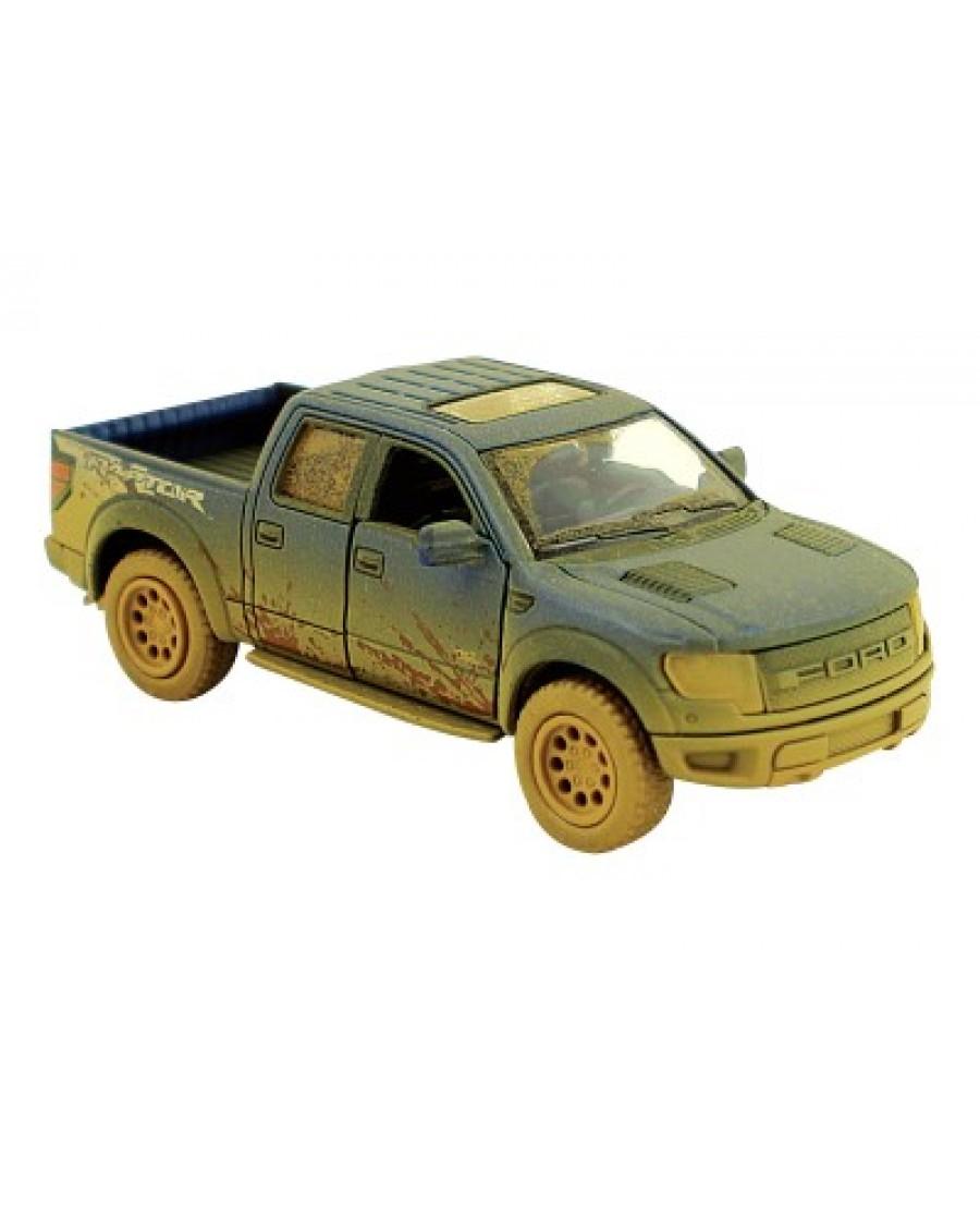 "5"" Ford F-150 SVT Raptor Supercrew Muddy"