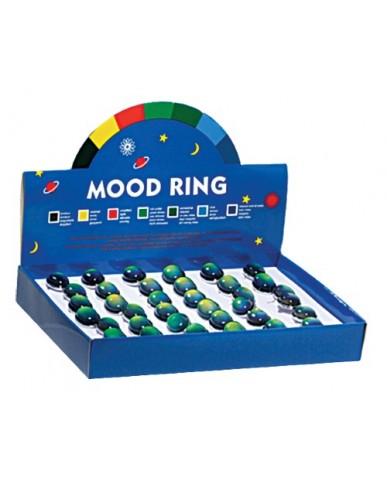 Jumbo Oval Stone Retro Mood Ring