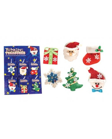 Christmas Twinkling Pins
