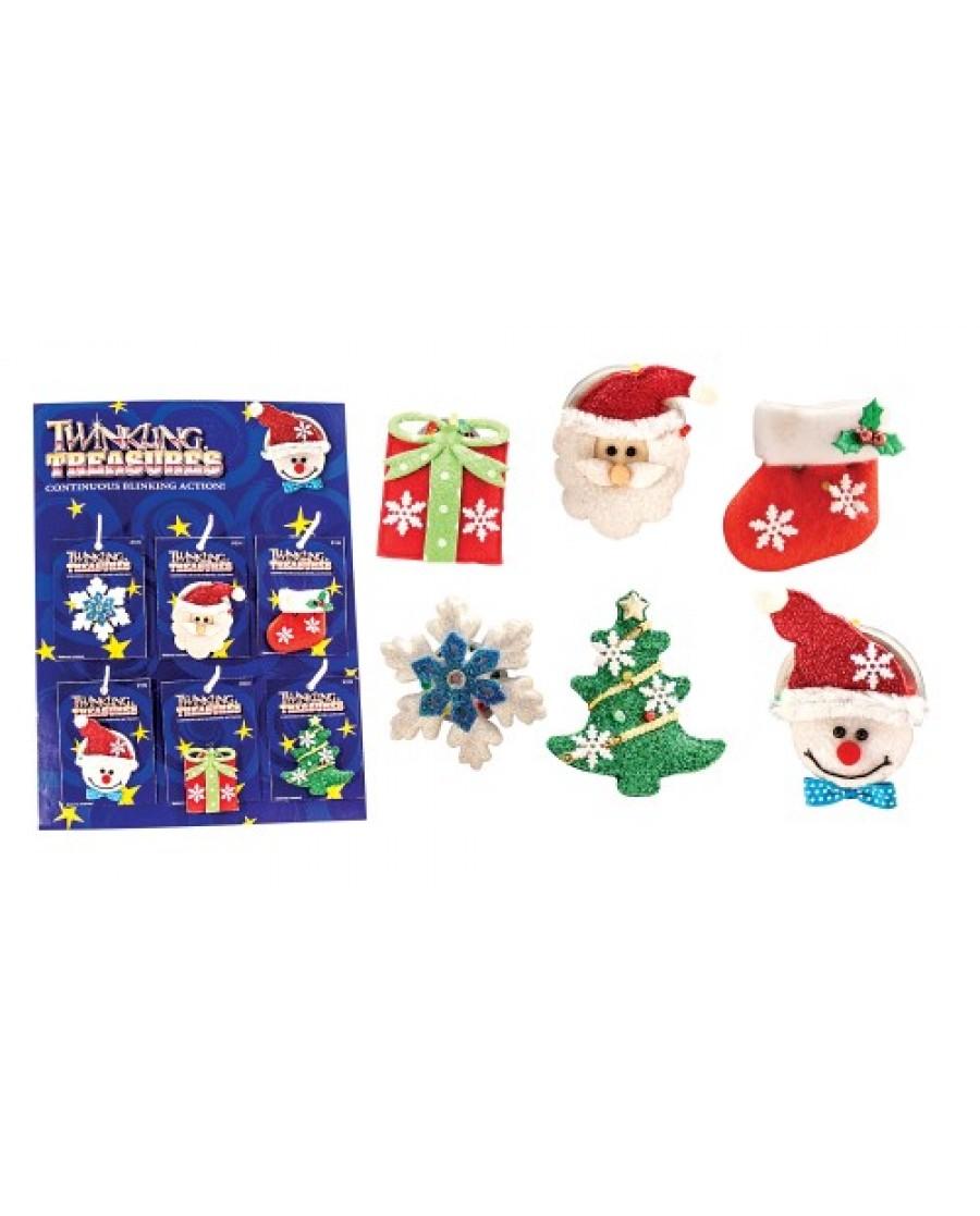 Christmas Twinkling Pins