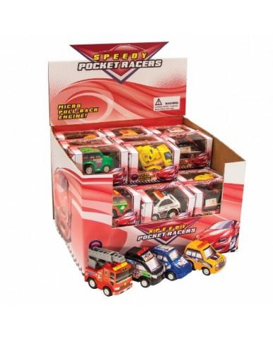"2"" Speedy Pocket Racers"