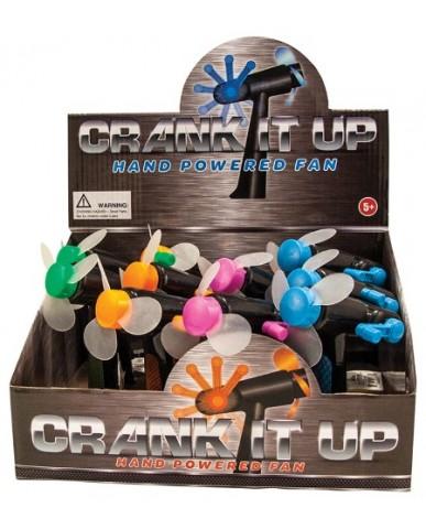 Crank It Up Fan